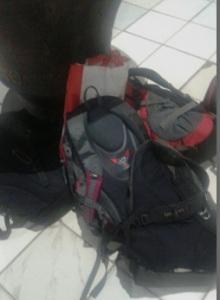 Kumpulan Tas yang Diselamatkan Ranu