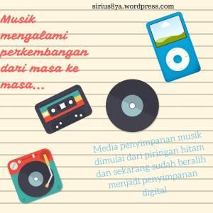 media penyimpanan musik